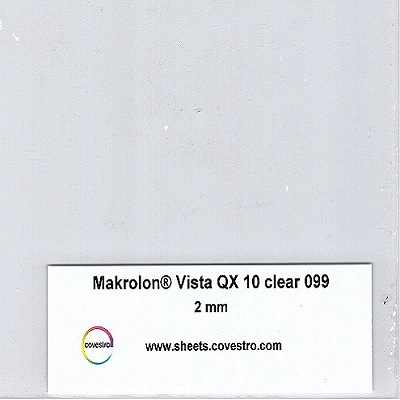 Makrolon® Vista QX Optical quality for clear requirements